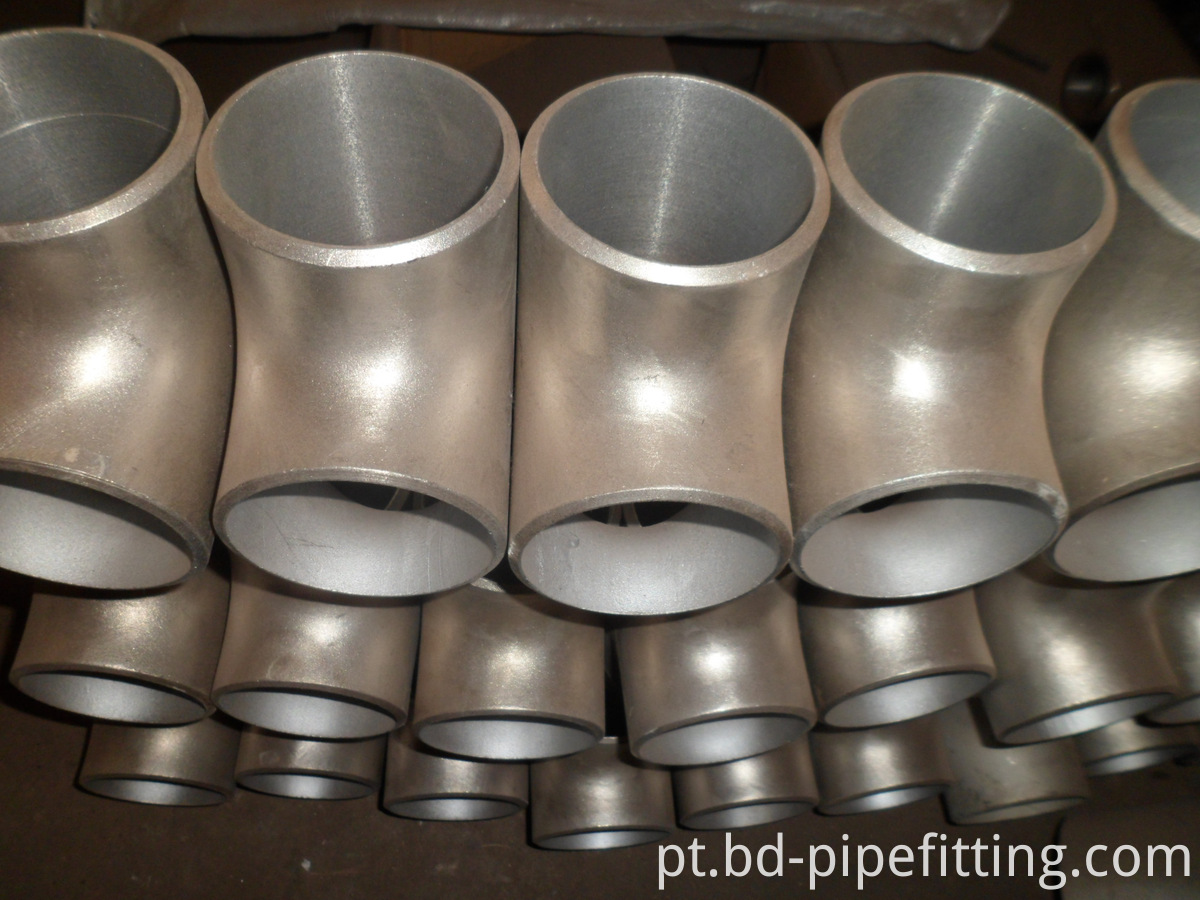 ANSI B16.9 Carbon Steel A420 Wpl6 Sch80 Equal Tee