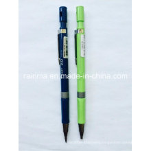 Plastic Propelling Pencil with 2 Color Yellow and Black of The Barrel