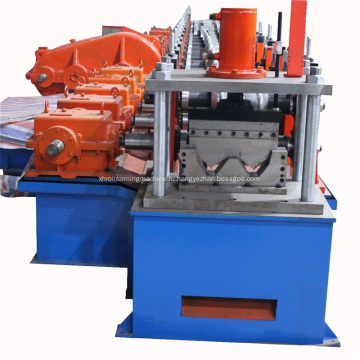 Single-Wave+Highway+Guardrail+Roll+Forming+Machine