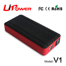 protable wall charger emergency jump starter power starter with air pump optional