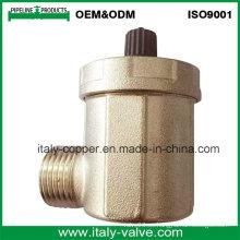 Válvula de ventilación de aire de ángulo forjado de latón de calidad ODM (IC-3043)
