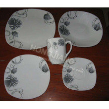 30PCS Dinner Set Square
