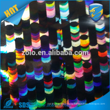 Shezhen factory hologram lamination film/cheap glossy plastic printing film