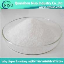 Rohstoff für Baby-Windel, die Superabsorber-Polymer des Saft-Pulver-MSDS macht