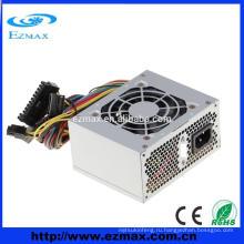 2015 модель hotselling Micro ATX PC источник питания SMPS PSU с 8-сантиметровым бесшумным вентилятором