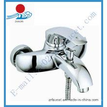 Maçã de bronze simples e torneira de banho de punho de zinco (ZR20701)
