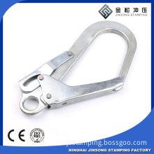 Custom Silver color big size stronger metal removable hook