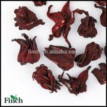 Tisane séchée de fleur d'hibiscus, tisane séchée de fleur de Roselle, thé de fines herbes de fleur de Mei Gui Qie