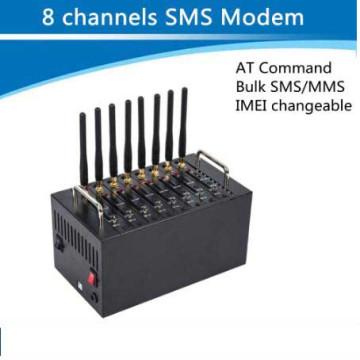 8 портов 8 SIM-карты GSM шлюз Воип