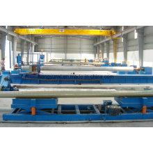 Máquina de enrolamento de filamentos para tubos FRP ou GRP