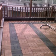 Поделки этаж ДПК плитка деревянный пластичный составной decking (HLWPC009)