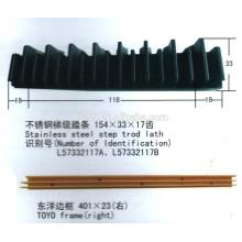 Liga de alumínio etapa frame / escada rolante peças sobressalentes