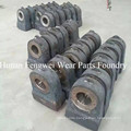 High Manganese Hammer Head Parts for Hammer Crusher