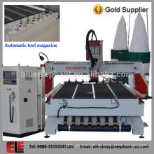 Professionelle CNC-Fräsmaschine für die Holzbearbeitung mit hoher Geschwindigkeit