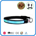 Led Light Up Flashing Light Dog Collar And Leash