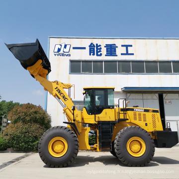 chargeur sur pneus chargeur frontal 6 tonnes