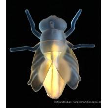 Brinquedos de halloween venda quente brilha mosca