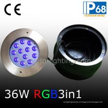 Luz de piscina asimétrica de 36W RGB LED impermeable (JP948126-AS)