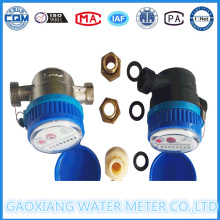 Dry Dial Nylon Single Jet Water Meter of China Water Meter