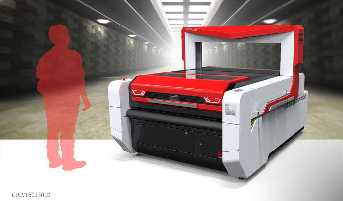 Laser Printed Fabric Cutter with Vision Recognition