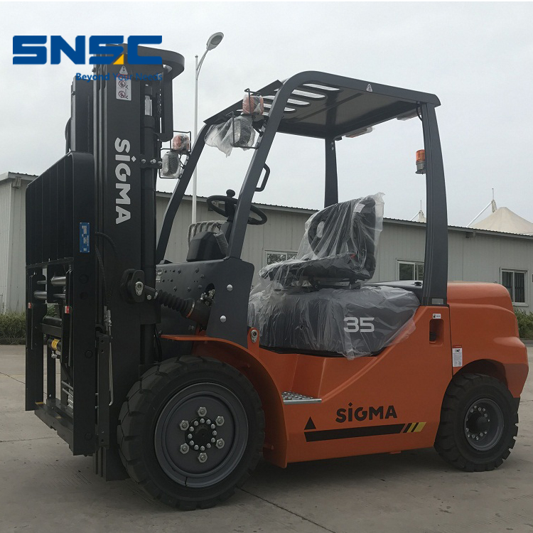 Forklift 3.5 Ton With Paper Roll Clamp