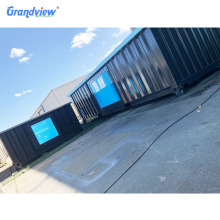 prefab structure customized waterproof fiberglass acrylic swimming container pool