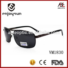 Europe style man big size metal sunglasses with CE & FDA standards