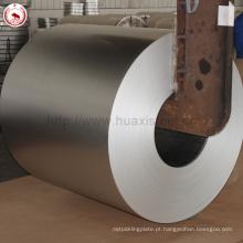 Aluzinc Coated Roof Metal Usado Galvalume GL Coil com impressão anti-dedo
