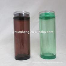respectueux de l'environnement personnalisé de grande qualité simple petite bouteille en plastique
