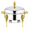 Oval Shape Chafing Dishes ou Food Warmer