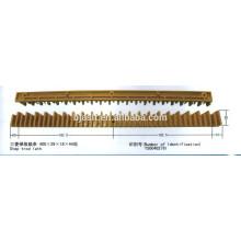 Pièces détachées en alliage d'aluminium / escalier mécanique