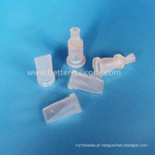 Válvula de verificação de Duckbill da injeção de Overmolding LSR, válvula do Duckbill de LSR para as peças médicas