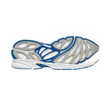 Creative Toe Movement Chaussures de course à secours sismique Sole Sole Sole de caoutchouc