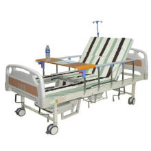 4 Crank 4 Function Manual Hospital Nursing Medical Bed for Patients