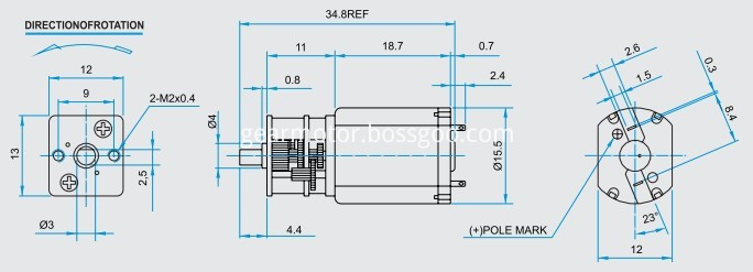 FF030 DC motor