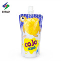 Doypack customized spout pouch for drink