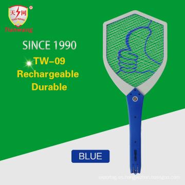 Asesino de alta calidad del insecto de mosquito del alto voltaje con el cepillo de limpieza