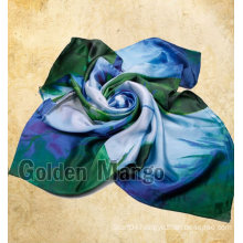 Latest Fashion Printing Silk Square Scarf