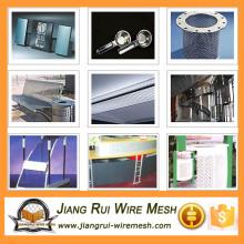Perforiertes Metallgitter leichte / perforierte Metall-Schirmtürgitter