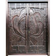 Puerta de diseño especial de acero inoxidable