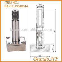 Válvula solenoide normalmente cerrada de 3 vías Tubo de émbolo de acero inoxidable