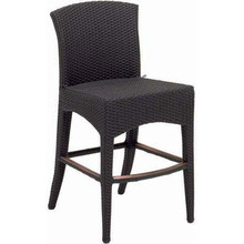 Chaise de jardin en osier rotin Bar Set tabouret meubles extérieurs