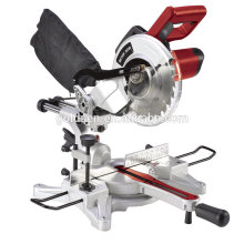 Portable 210mm 1500w Slider Mitre Saw Electric Power Sierra de corte de aluminio de la ventana