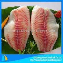 Preço competitivo filé de peixe filé de peixe de tilápia congelado