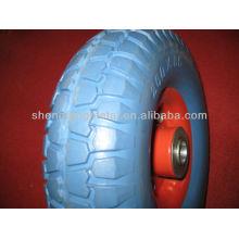 10 дюймов высокого качества pu пены колесо