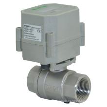 Válvula del regulador del drenaje del temporizador de la válvula de acero inoxidable de 2 vías 110-230V (S20-S2-C)