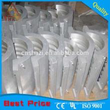 Heat Cool Aquecedor de alumínio para extrusão de plásticos