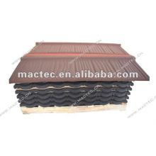 Tuile de toit en métal