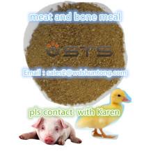 Polvo de proteína Carne y harina de hueso para forraje