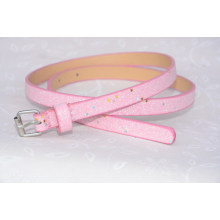 Trendy fashion glitter pink belt for kids